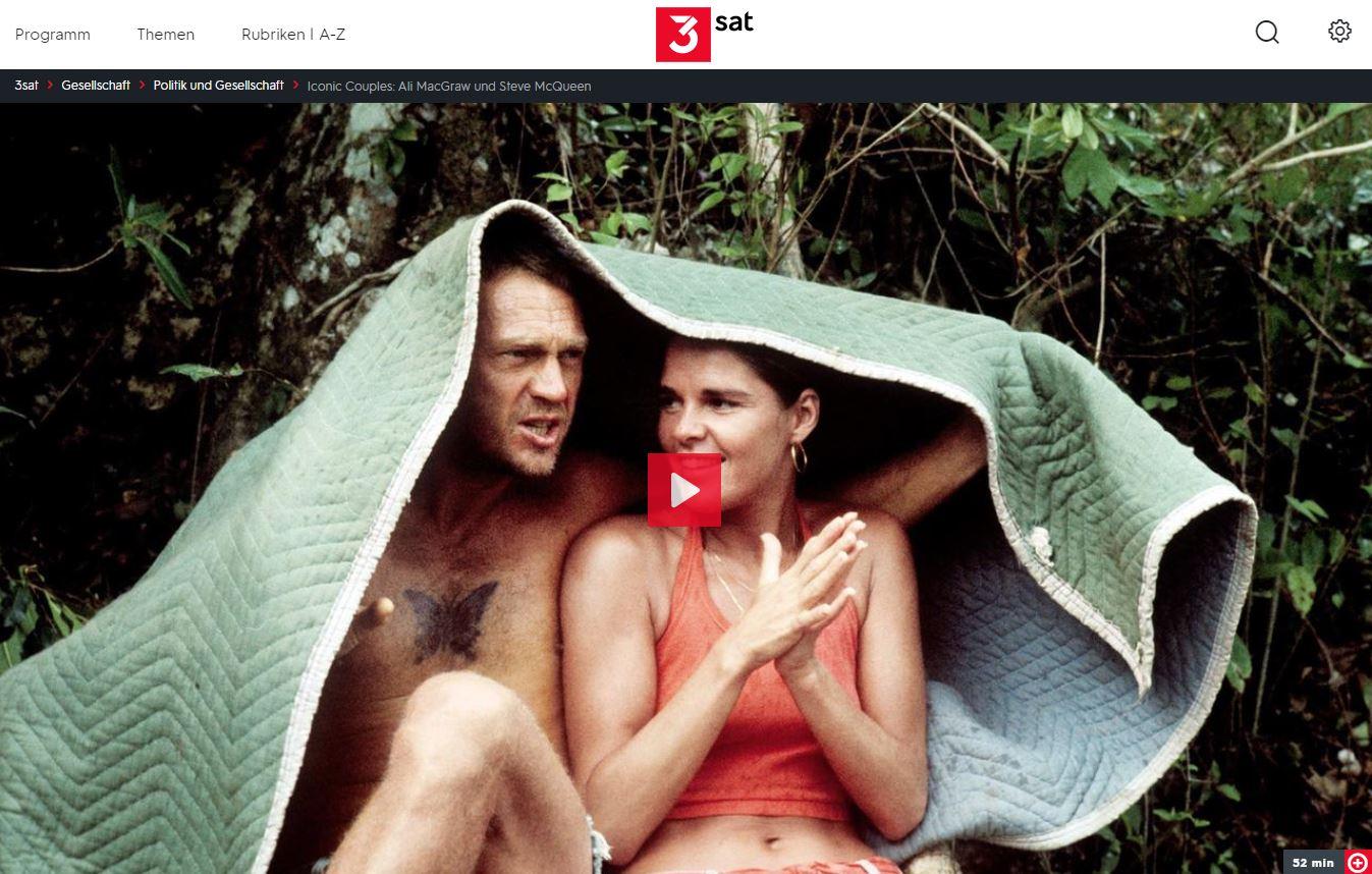 3sat-Doku: Iconic Couples - Ali MacGraw & Steve McQueen und Lauren Bacall & Humphrey Bogart