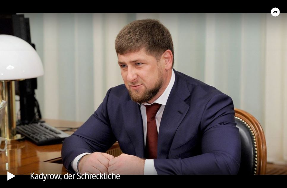 ARTE-Doku: Ramsan Kadyrow, der Schreckliche