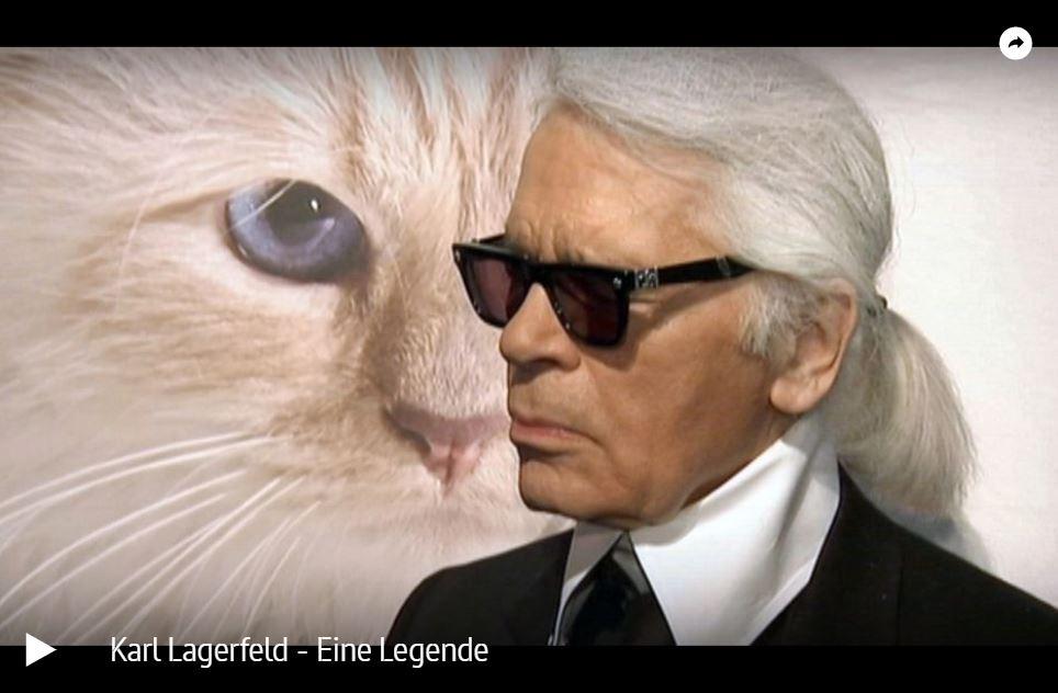 ARTE-Doku: Karl Lagerfeld - Eine Legende