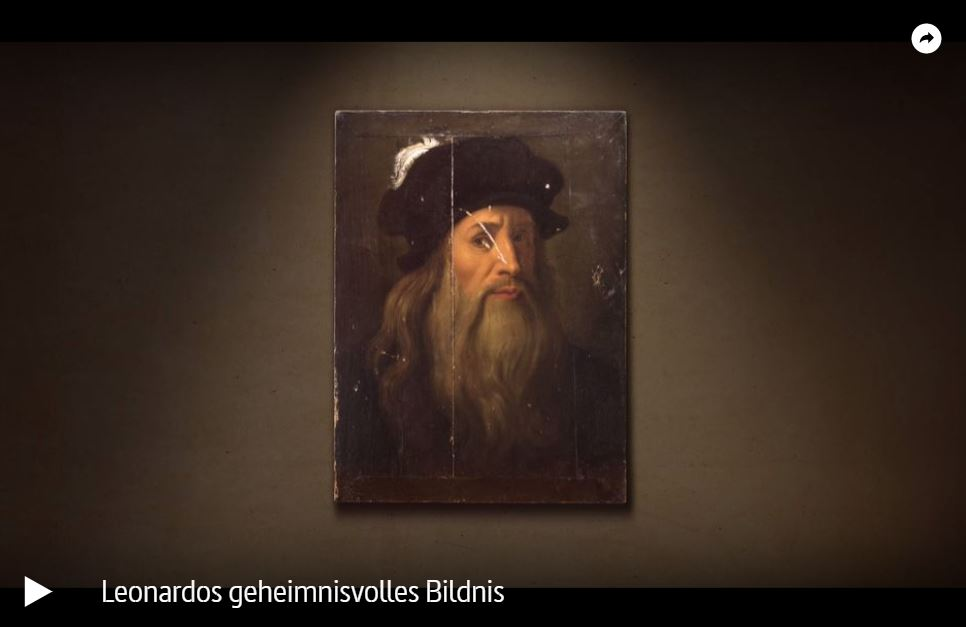 ARTE-Doku: Leonardo da Vincis geheimnisvolles Bildnis