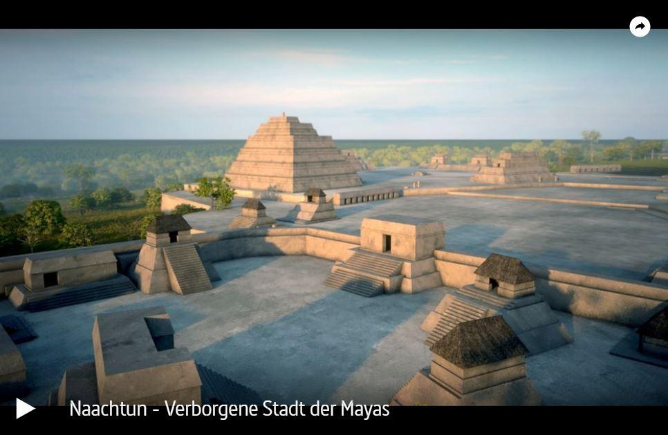 ARTE: Naachtun - Verborgene Stadt der Mayas // Doku-Empfehlung von Wibke Ladwig