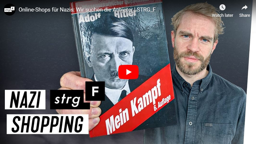 STRG_F-Doku: Online-Shops für Nazis - Wir suchen die Anbieter