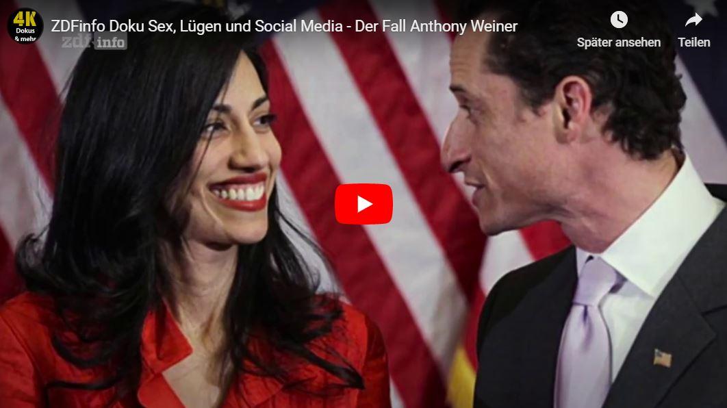 ZDF-Doku: Sex, Lügen und Social Media - Der Fall Anthony Weiner