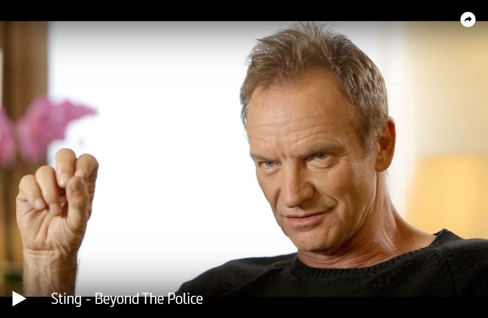ARTE-Doku: Sting - Beyond The Police