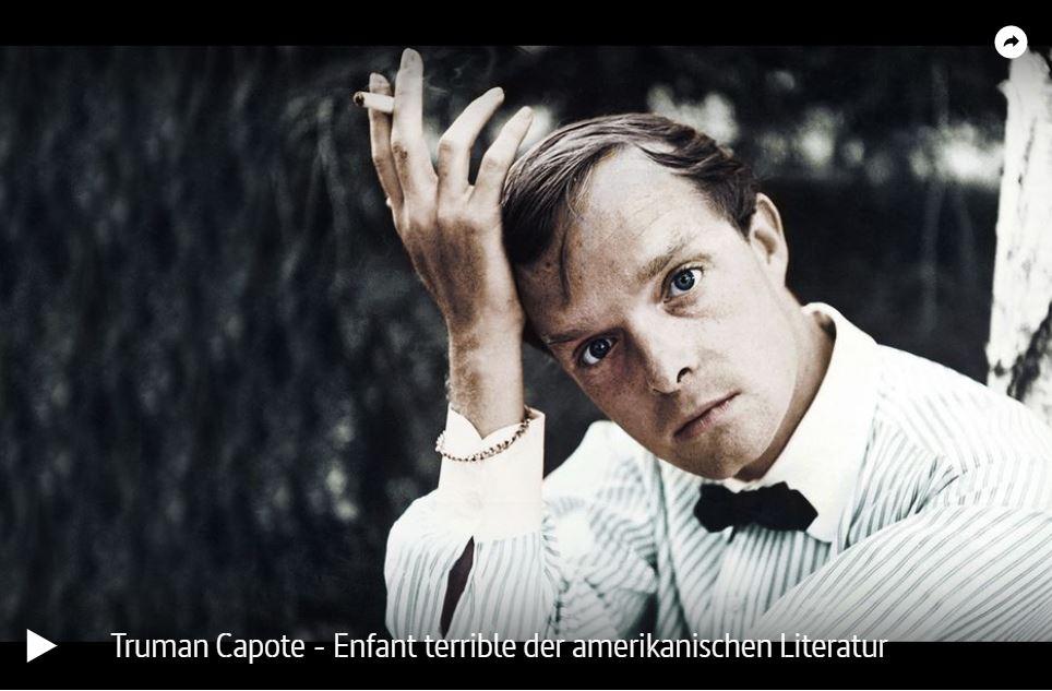 Doku-Tipp: Truman Capote - Enfant terrible der amerikanischen Literatur (ARTE)