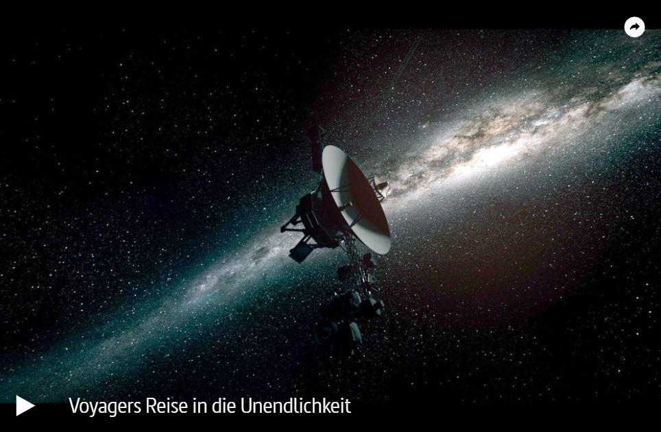ARTE-Doku: Voyagers Reise in die Unendlichkeit