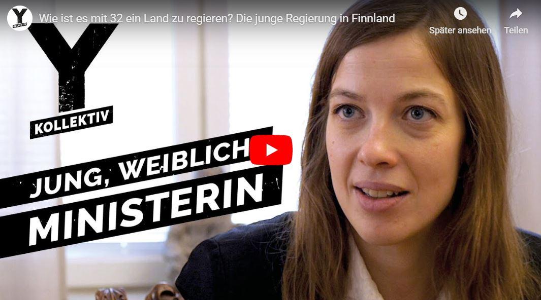 Y-Kollektiv-Doku: Wie ist es mit 32 ein Land zu regieren? Die junge Regierung in Finnland