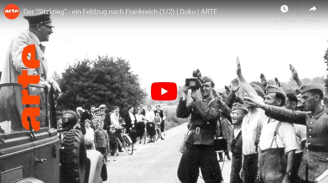 ARTE-Doku: Zweiter Weltkrieg - Feldzug nach Frankreich (2 Teile)