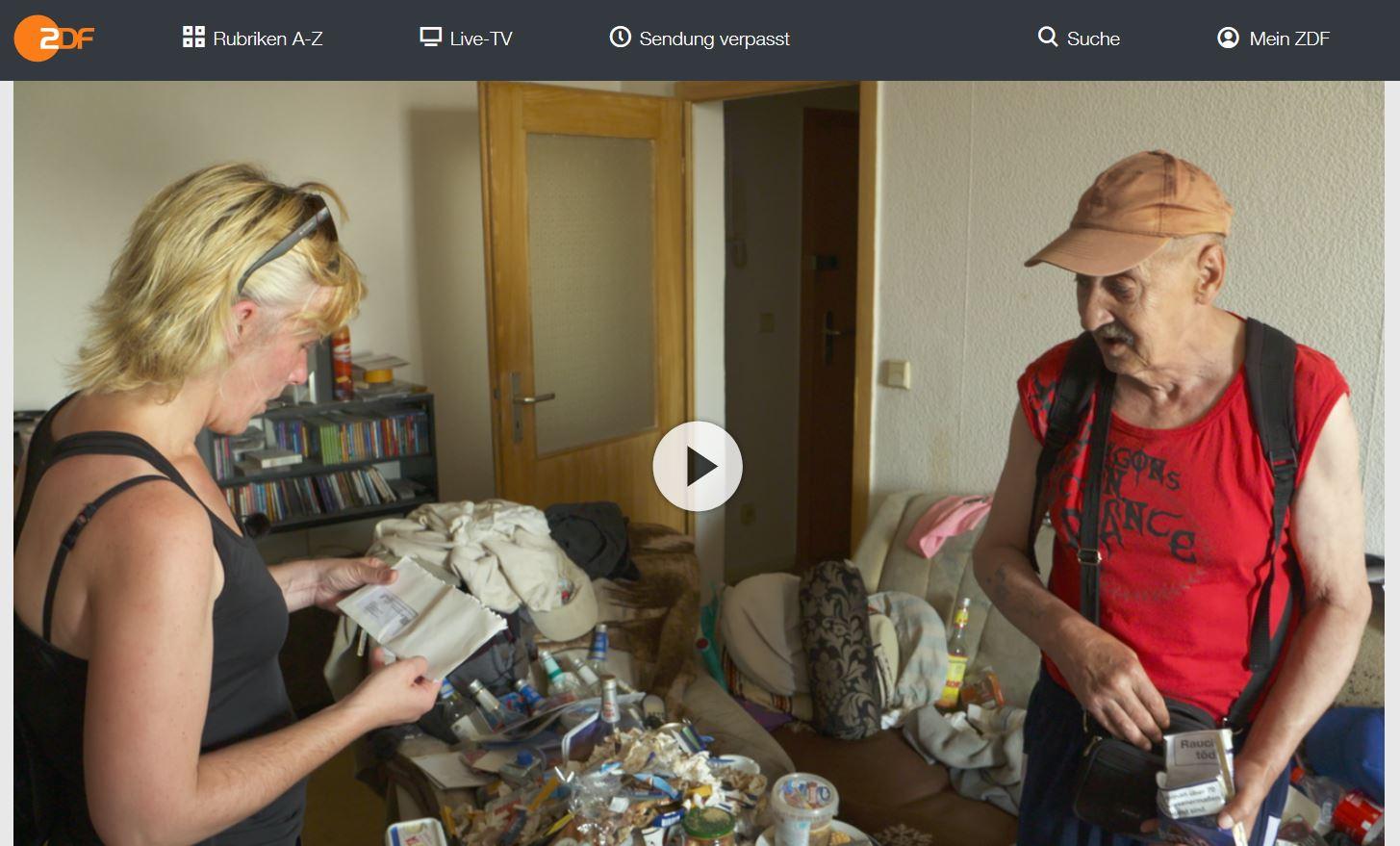 ZDF-Doku: Zwischen Frust und Hoffnung - Die Helfer vom Amt und ihre Kunden   37 Grad