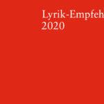 Lyrik-Empfehlungen 2020