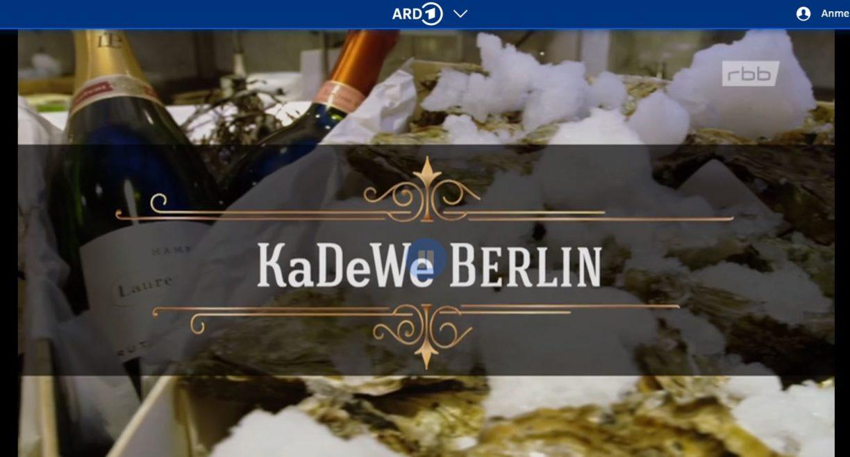 RBB-Doku: Die großen Traumkaufhäuser - KaDeWe
