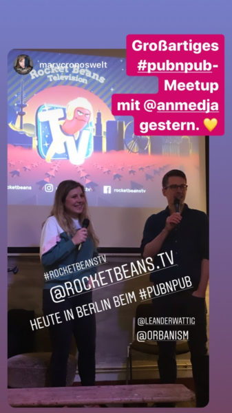 Instagram-Stories von ORBANISM