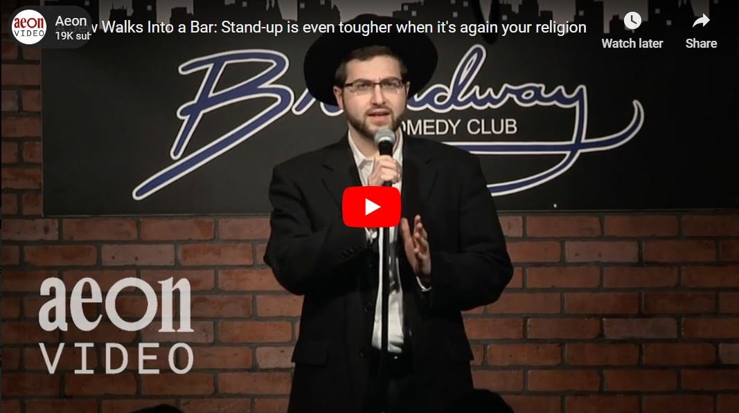 Aeon Video: A Jew Walks Into a Bar - Stand-up is even tougher when it's again your religion
