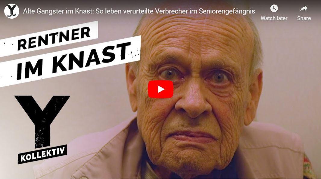 Y-Kollektiv: Alte Gangster im Knast - So leben verurteilte Verbrecher im Seniorengefängnis