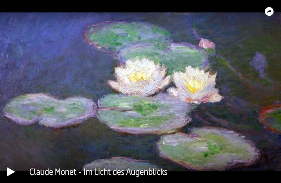 ARTE-Doku: Claude Monet - Im Licht des Augenblicks