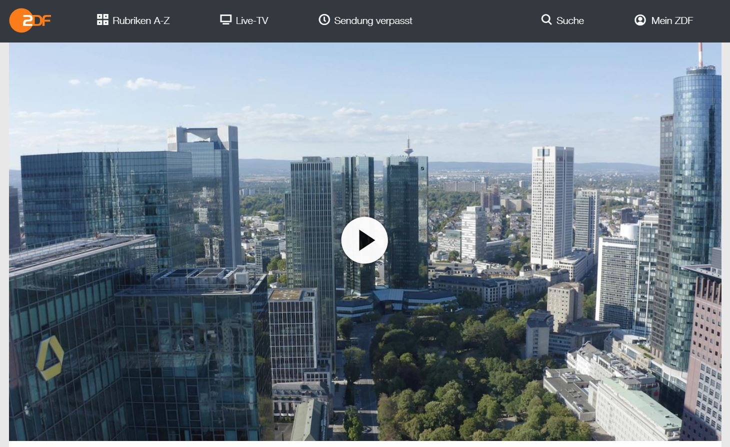 ZDF-Doku: Cum Ex – Der Milliarden-Steuerskandal