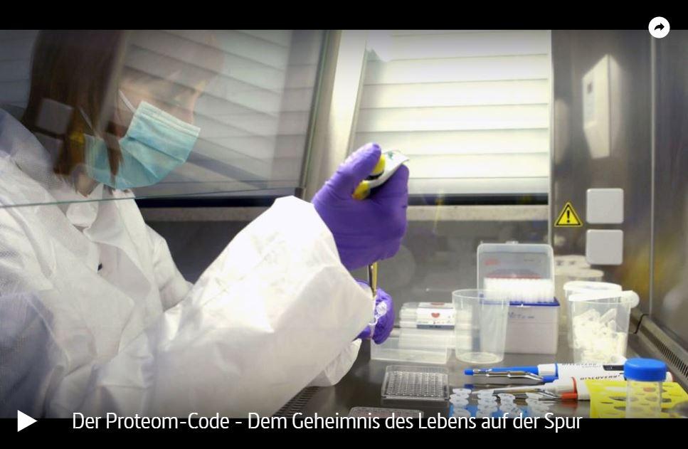 ARTE-Doku: Der Proteom-Code - Dem Geheimnis des Lebens auf der Spur