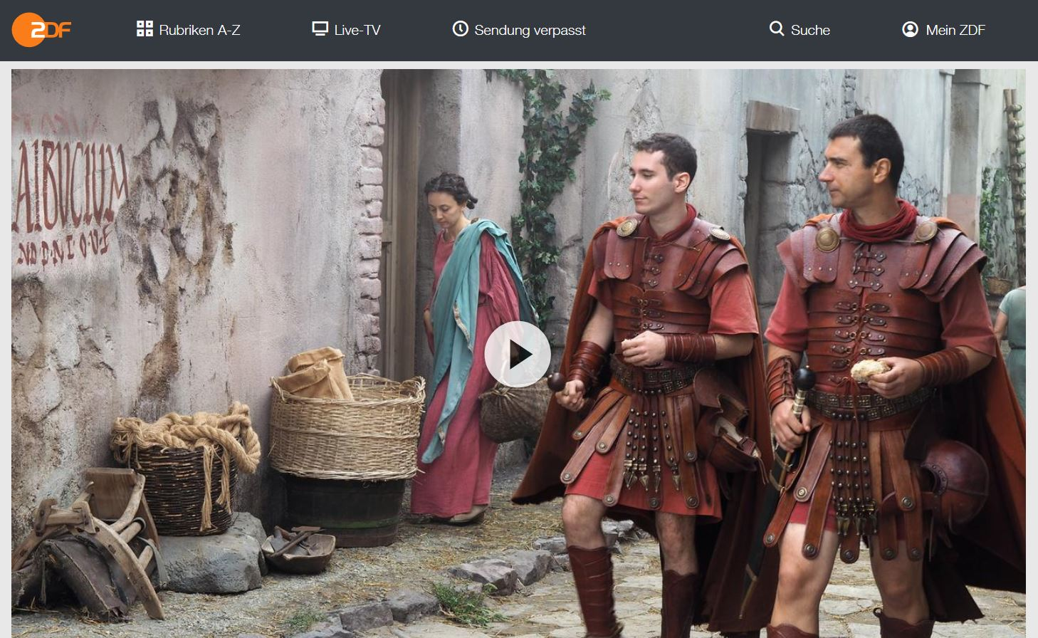 ZDF-Doku: Der letzte Tag von Pompeji   Terra X