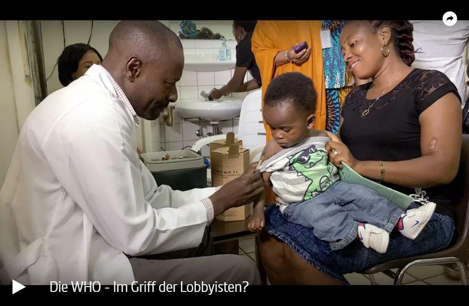 ARTE-Doku: Die WHO - Im Griff der Lobbyisten?