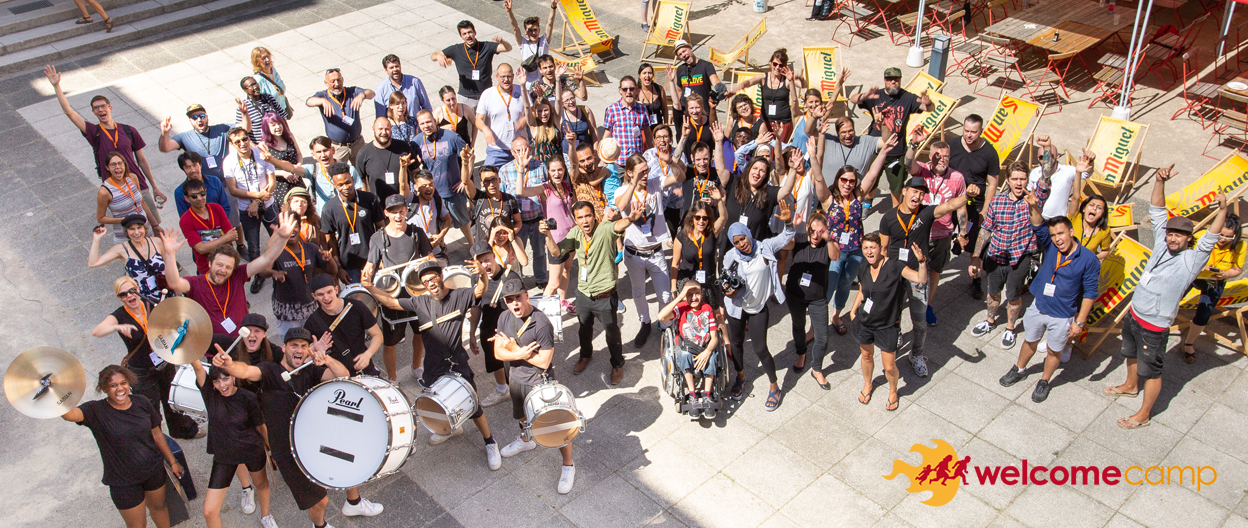 WelcomeCamp 2020 - erstmals digital!