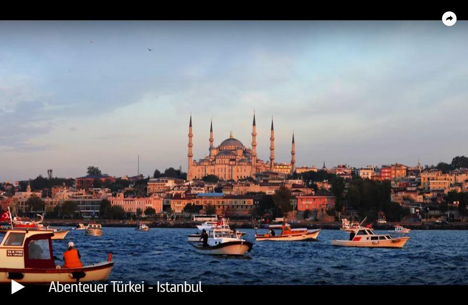 ARTE-Doku: Abenteuer Türkei - Istanbul