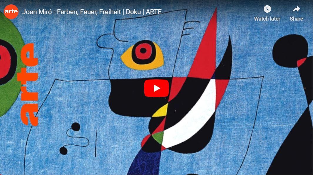 ARTE-Doku: Joan Miró - Farben, Feuer, Freiheit