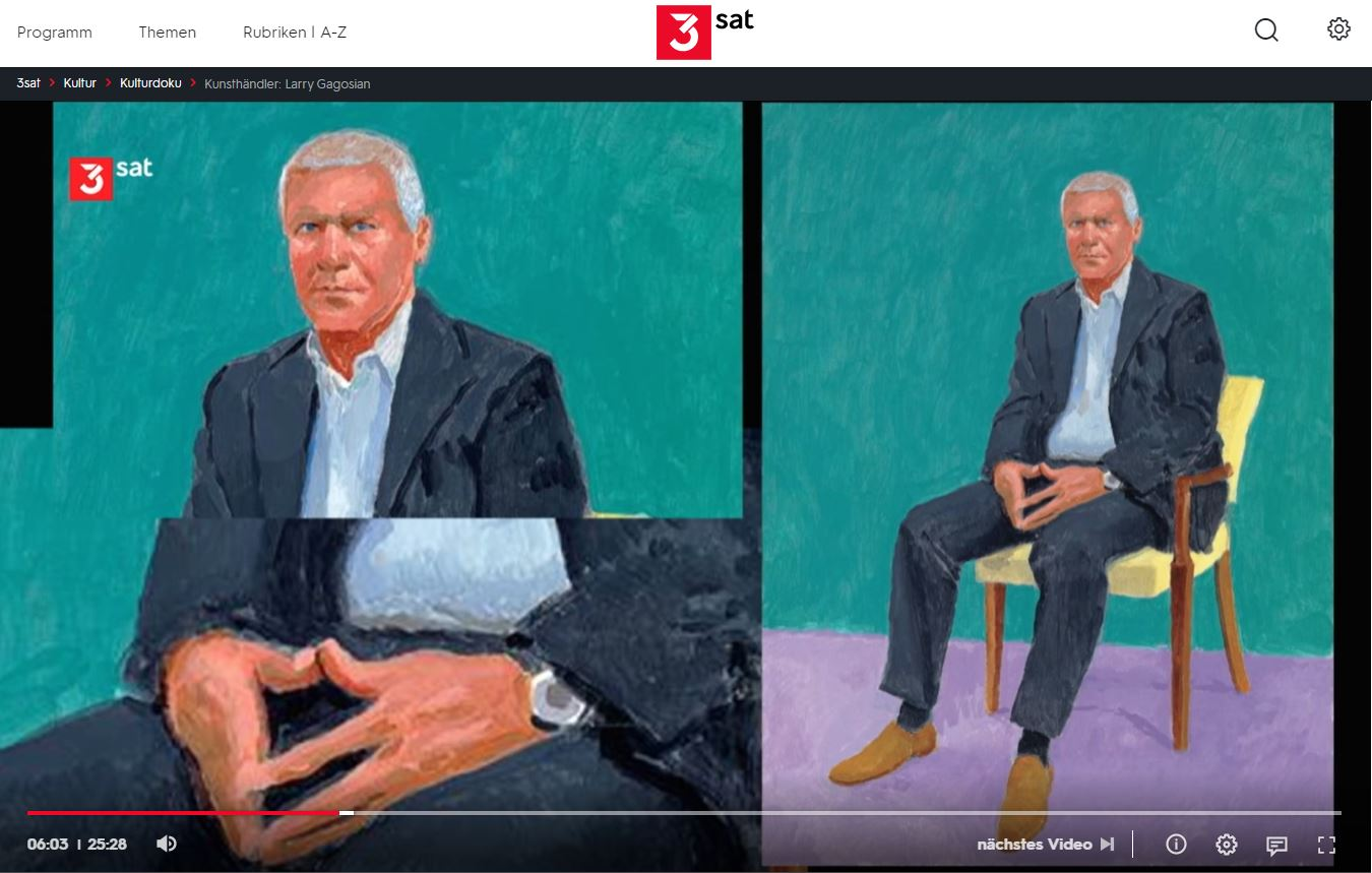 3sat-Doku: Kunsthändler - Larry Gagosian