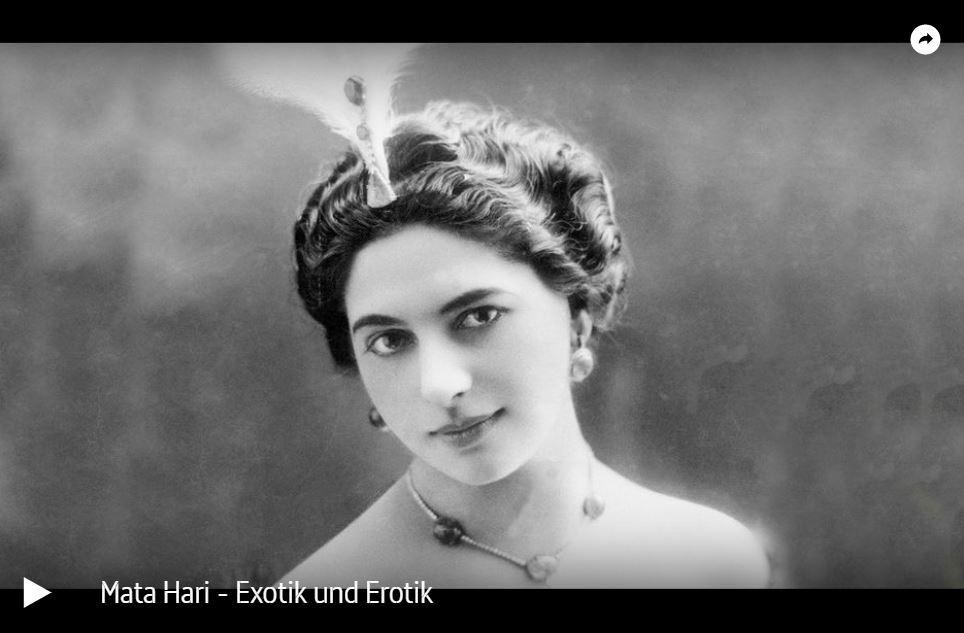 ARTE-Doku: Mata Hari - Exotik und Erotik