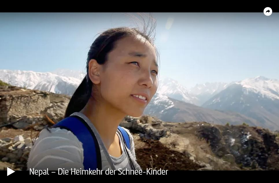 ARTE-Doku: Nepal – Die Heimkehr der Schnee-Kinder