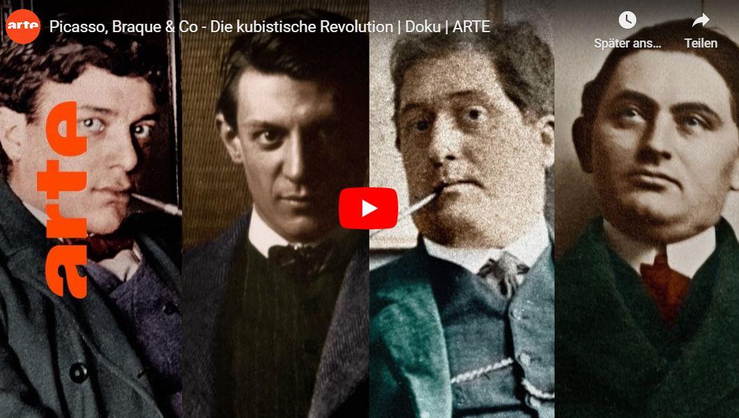 ARTE-Doku: Picasso, Braque & Co. - Die kubistische Revolution