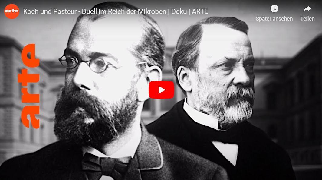 ARTE-Doku: Robert Koch und Louis Pasteur - Duell im Reich der Mikroben