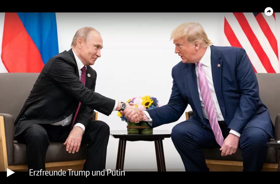 ARTE-Doku: Erzfreunde Trump und Putin