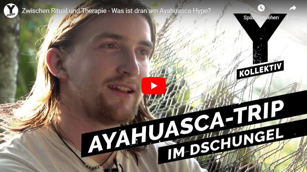 Y-Kollektiv-Doku: Zwischen Ritual und Therapie - Was ist dran am Ayahuasca-Hype?