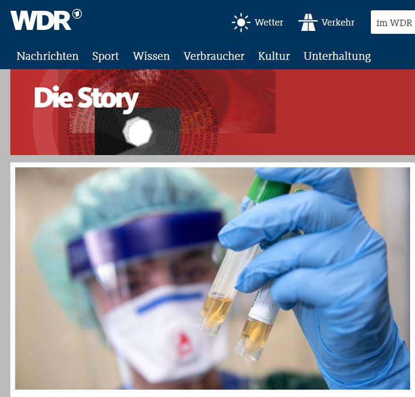 WDR-Doku: Coronavirus - Wie das Virus unser Land in Atem hält