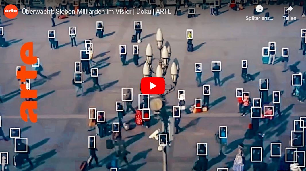 ARTE-Doku: Überwacht - Sieben Milliarden im Visier