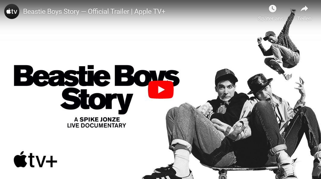 Apple TV+: Beastie Boys Story