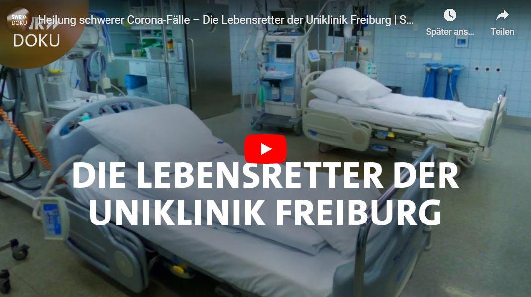 SWR-Doku: Heilung schwerer Corona-Fälle – Die Lebensretter der Uniklinik Freiburg