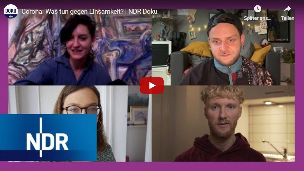 NDR-Doku: Corona - Was tun gegen Einsamkeit?