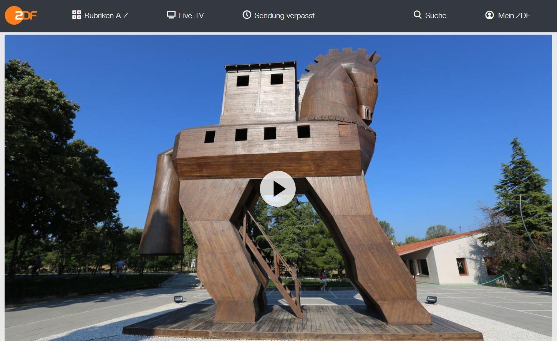 ZDF-Doku: Das Trojanische Pferd - Mythos und Wahrheit