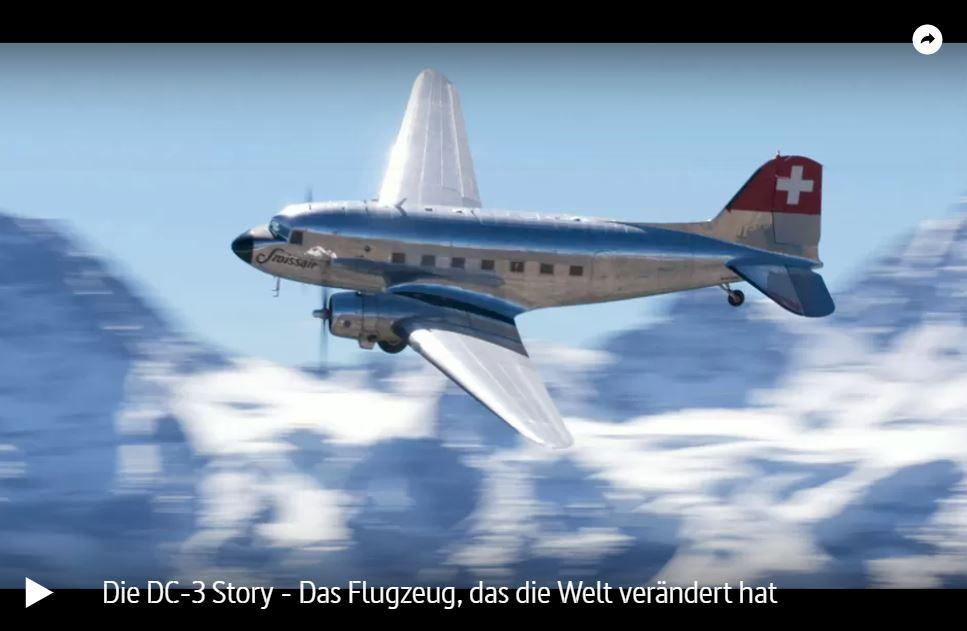ARTE-Doku: Die DC-3 Story - Das Flugzeug, das die Welt verändert hat