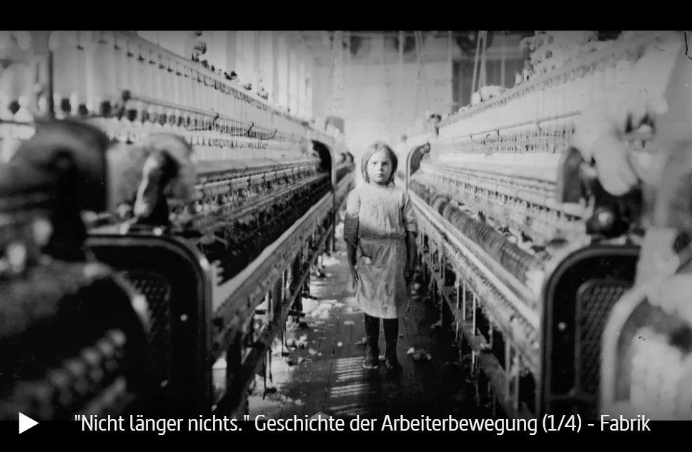 ARTE-Doku: Die Geschichte der Arbeiterbewegung - Zeit der Ausbeutung und der Revolution (4 Teile)
