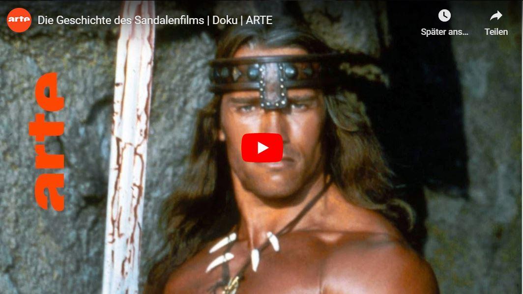 ARTE-Doku: Mit Schwertern und Sandalen - Die Geschichte des Sandalenfilms