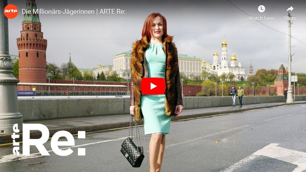 ARTE-Reportage: Die Millionärs-Jägerinnen in Moskau