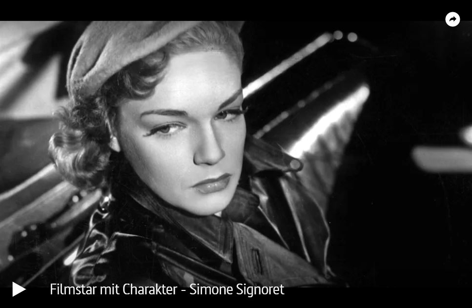 ARTE-Doku: Filmstar mit Charakter - Simone Signoret