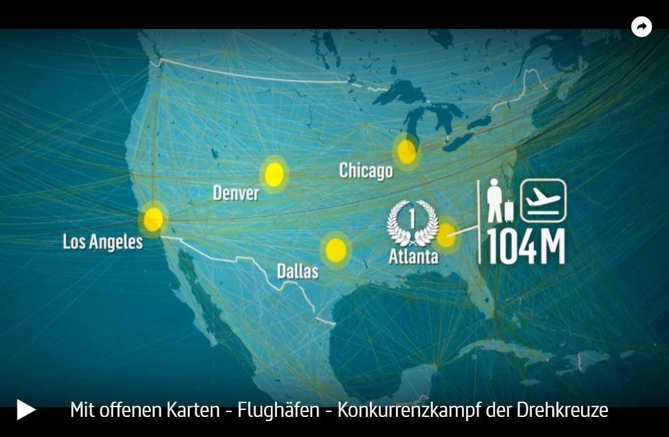 ARTE: Flughäfen - Konkurrenzkampf der Drehkreuze | Mit offenen Karten