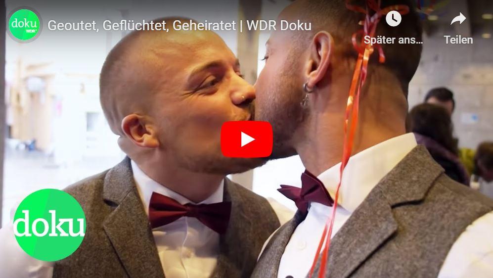 WDR-Doku: Geoutet, Geflüchtet, Geheiratet