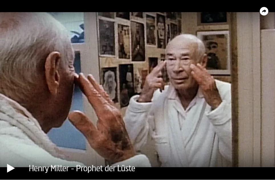 Doku-Tipp: Henry Miller - Prophet der Lüste (ARTE)