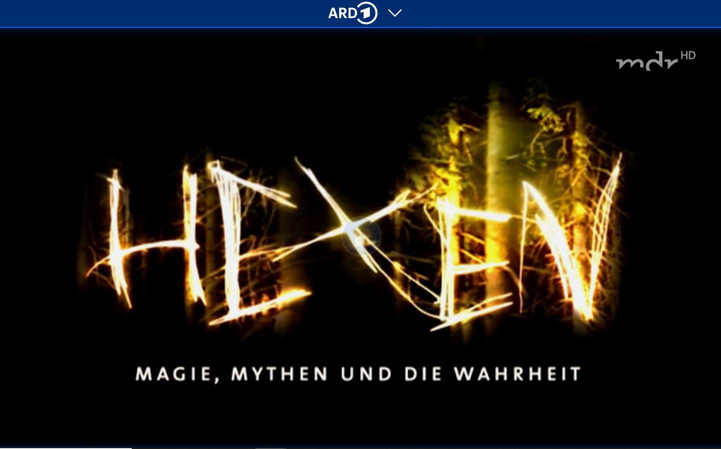 MDR-Doku: Hexen - Magie, Mythen und die Wahrheit (3 Teile)