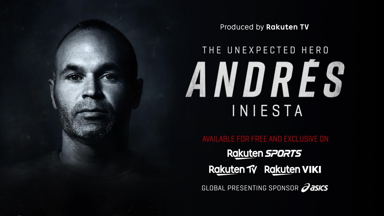 Rakuten.tv: Iniesta, der unerwartete Held