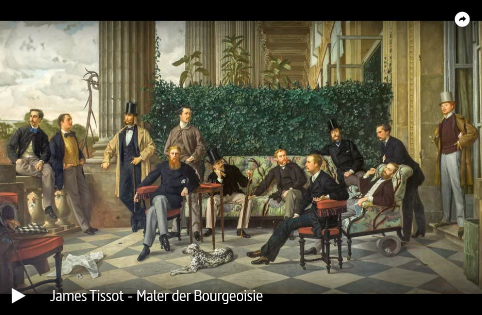 ARTE-Doku: James Tissot - Maler der Bourgeoisie